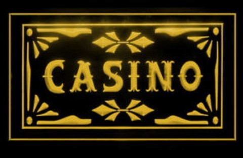 Casino Table Game LED Neon Sign