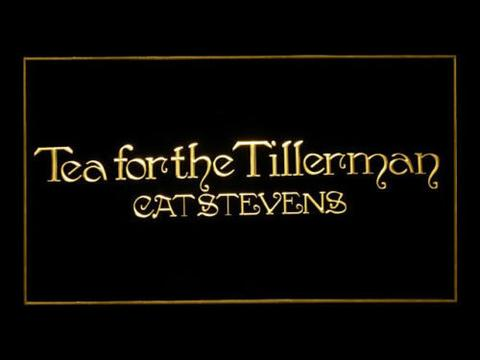 Cat Stevens Tea For The Tillerman LED Neon Sign