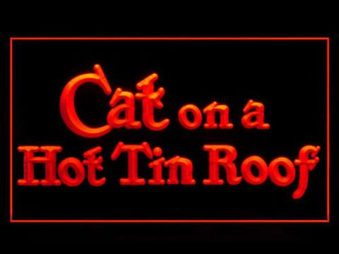 Cat on a Hot Tin Roof LED Neon Sign
