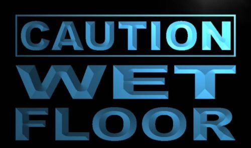 Caution Wet Floor Neon Light Sign