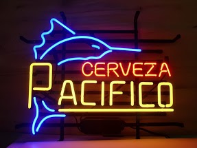 Cerveza Pacifico Classic Neon Light Sign 17 x 14