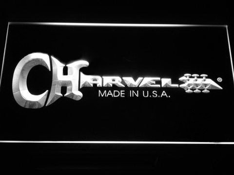 Charvel Guitars LED Neon Sign