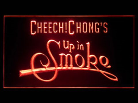 Cheech and Chong Up in Smoke LED Neon Sign