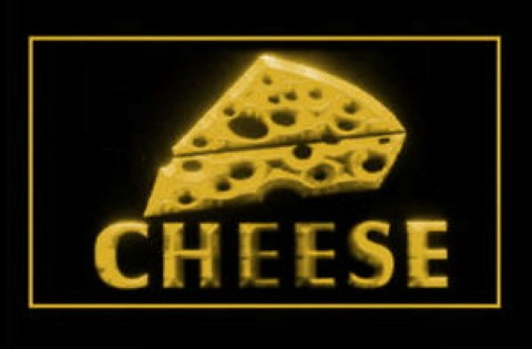 Cheese Swiss LED Neon Sign