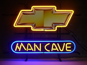 Chev Man Cave Classic Neon Light Sign 17 x 14