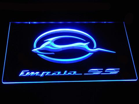 Chevrolet Impala SS LED Neon Sign