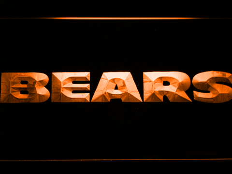 Chicago Bears Text LED Neon Sign