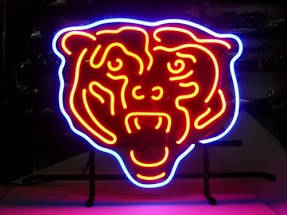 Chicago Bears Classic Neon Light Sign 17 x 14