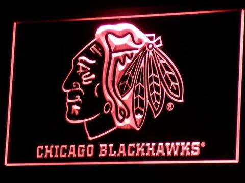 Chicago Blackhawks LED Neon Sign