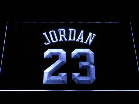Chicago Bulls Jordan 23 LED Neon Sign