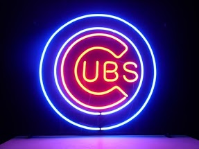Chicago Cubs Classic Neon Light Sign 17 x 14