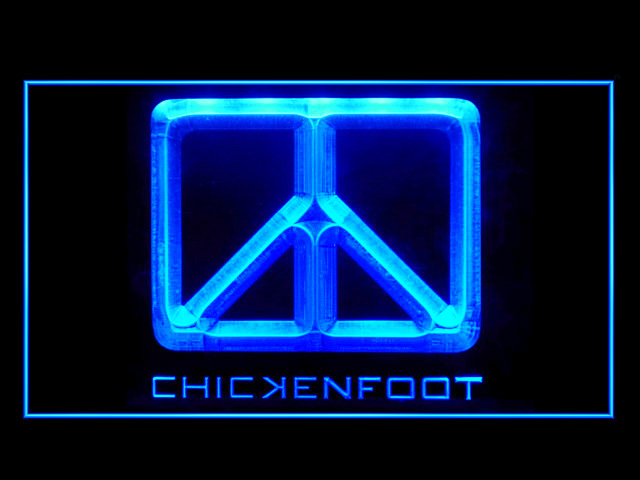Chickenfoot Band Rock Roll Display Led Light Sign