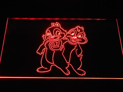 Chip 'n' Dale LED Neon Sign