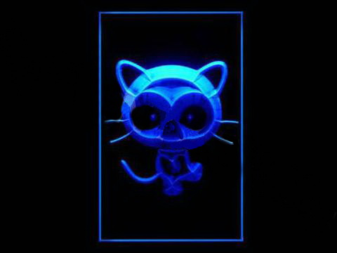 Chococat LED Neon Sign