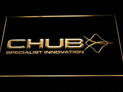 Chub Fishing Logo LED Neon Sign