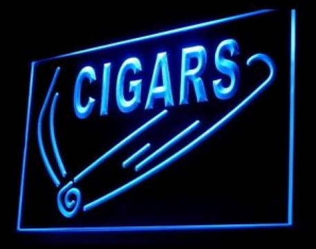 Cigar Shop LED Neon Sign