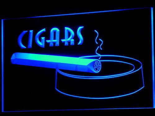 Cigars Ashtray LED Light Sign