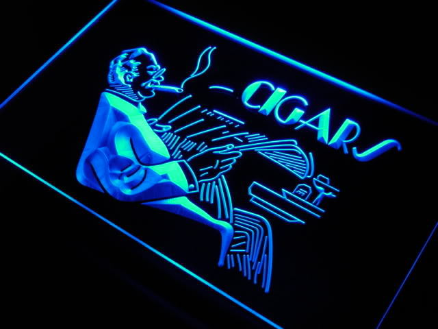 Cigars Shop Display Lure Neon Light Sign