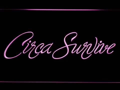 Circa Survive Script LED Neon Sign