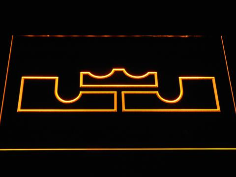 Cleveland Cavaliers LeBron James Logo LED Neon Sign