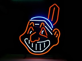 Cleveland Indians Classic Neon Light Sign 17 x 14