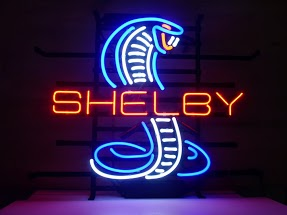 Cobra Shelby Classic Neon Light Sign 17 x 14
