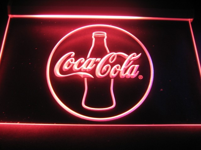 Coca Cola Logo LED Light Sign