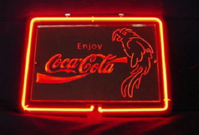 Coca Cola Coke Enjoy Soda Neon Sign