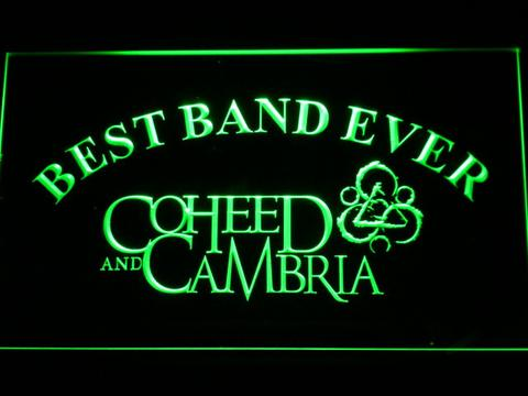 Coheed and Cambria Best Band Ever LED Neon Sign