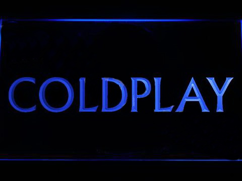 Coldplay LED Neon Sign