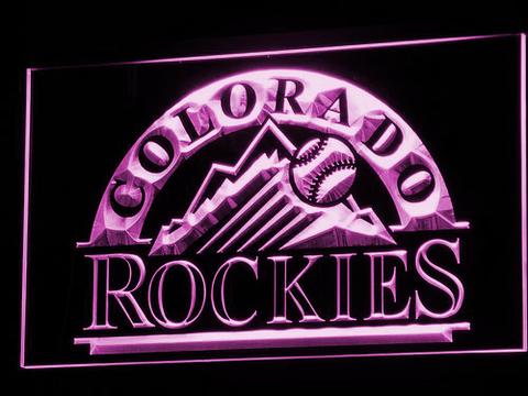 Colorado Rockies LED Neon Sign
