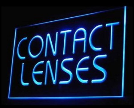 Contact Lenses LED Neon Sign