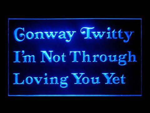 Conway Twitty LED Neon Sign