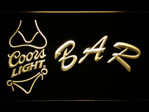 Coors Light Bikini Bar LED Neon Sign