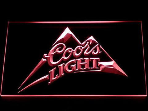 Coors Light Mountain LED Neon Sign