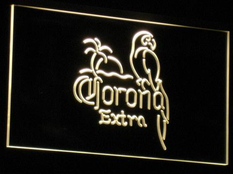Corona Extra - Parrot LED Neon Sign