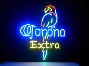 Corona Extra Parrot Bar Classic Neon Light Sign 17 x 14