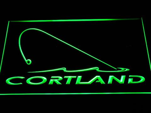 Cortland Fishing Logo LED Neon Sign