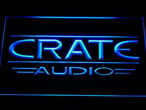 Crate Audio LED Neon Sign