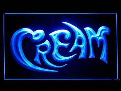 Cream LED Neon Sign