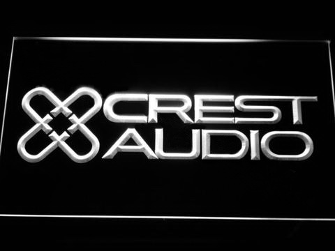 Crest Audio LED Neon Sign