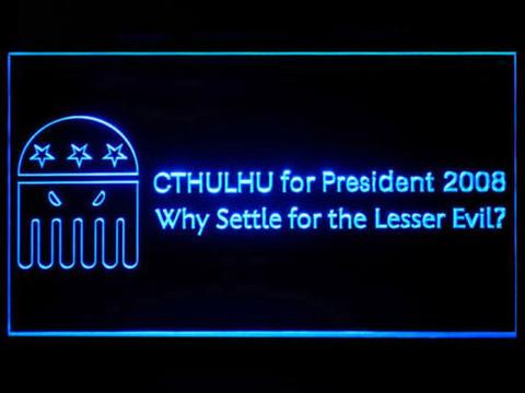 Cthulhu for President LED Neon Sign