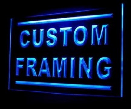 Custom Framing LED Neon Sign