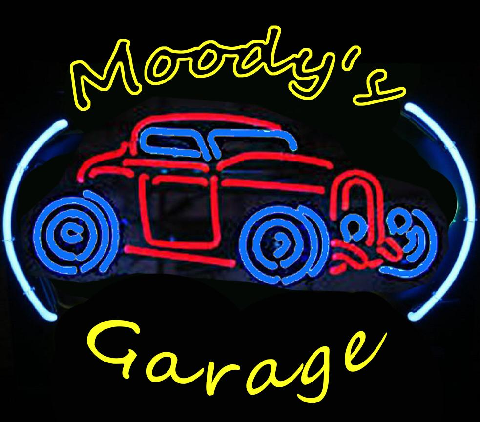 Custom Garage light Neon Sign