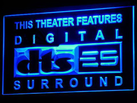 DTS - Digital Surround LED Neon Sign