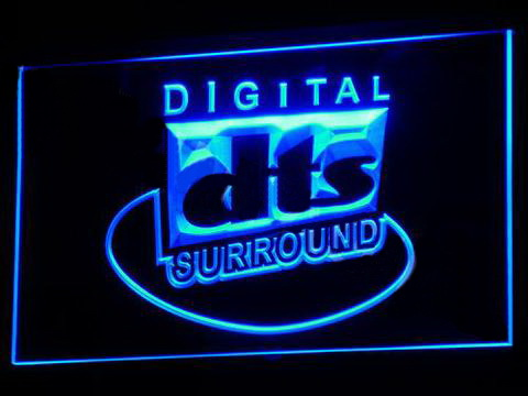DTS Digital Surround 2 LED Neon Sign