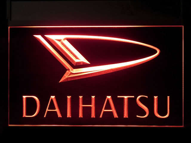 Daihatsu Service LED Light Sign