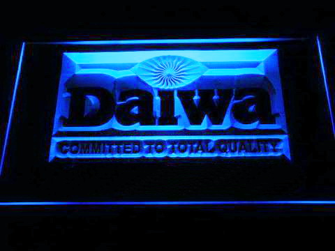 Daiwa Fishing Logo LED Neon Sign