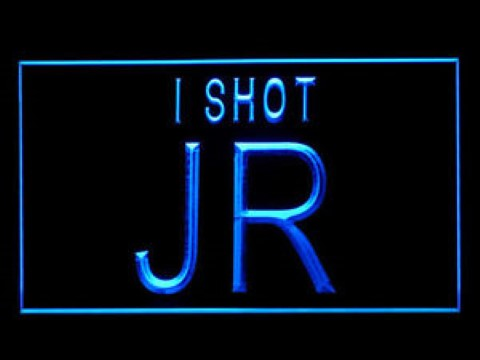 Dallas JR Ewing LED Neon Sign