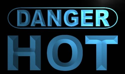 Danger Hot Neon Light Sign